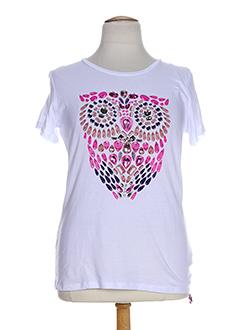 OPEN END T-shirt / Top ROSE Manche courte FEMME (photo)
