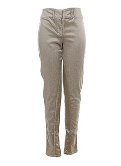 SAVE THE QUEEN Pantalon BEIGE Pantalon décontracté FEMME (photo)