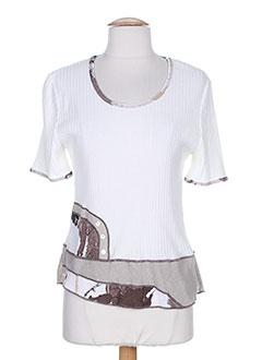 SAINT CHARLES T-shirt / Top BLANC Top FEMME (photo)