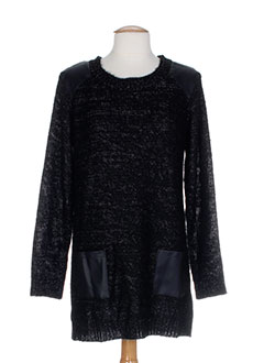 B.YOUNG Pull NOIR Pull-tunique FEMME (photo)