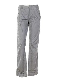 R 867 Pantalon GRIS Pantalon décontracté FEMME (photo)