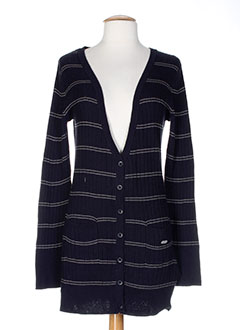 ROXY GIRL Gilet BLEU Cardigan FEMME (photo)