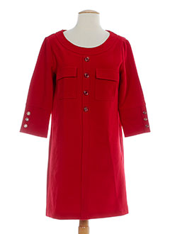 2 TWO Robe ROUGE Robe pull FEMME (photo)