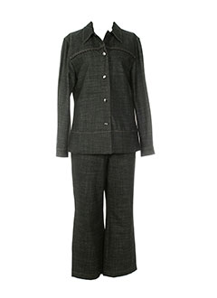 BRUNO SAINT HILAIRE Ensemble NOIR Pantalon/Veste FEMME (photo)