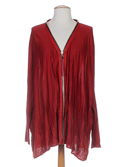 HOTEL PARTICULIER Gilet ROUGE Cardigan FEMME (photo)
