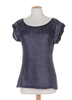 GEISHA T-shirt / Top BLEU Manche courte FEMME (photo)
