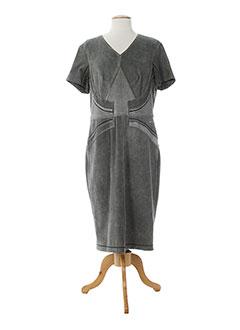 SPORTALM Robe GRIS Robe mi-longue FEMME (photo)