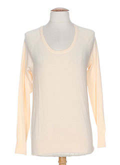 B.YOUNG Pull ORANGE Col rond FEMME (photo)