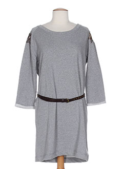 TOMMY HILFIGER Robe GRIS Robe pull FEMME (photo)