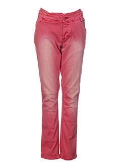 KAPORAL Pantalon ROUGE Pantalon décontracté FEMME (photo)