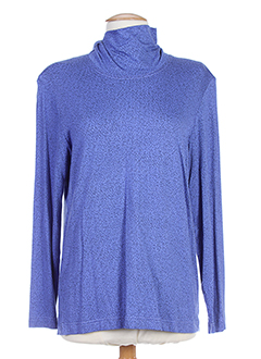 EUGEN KLEIN T-shirt / Top BLEU Manche longue FEMME (photo)