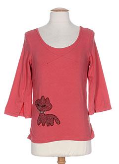 SOLOLA T-shirt / Top ROSE Manche longue FEMME (photo)