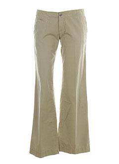 MISS SIXTY Pantalon BEIGE Pantalon citadin FEMME (photo)