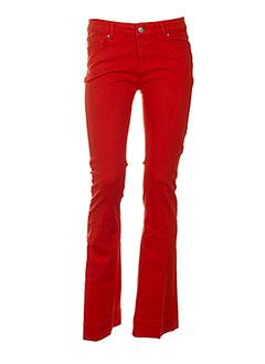 SINEQUANONE Pantalon ROUGE Pantalon décontracté FEMME (photo)