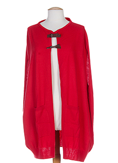 WHO'S WHO Gilet ROUGE Gilet FEMME (photo)