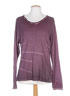 R 867 T-shirt / Top ROSE Manche longue FEMME (photo)