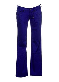 G STAR Pantalon BLEU Pantalon décontracté FEMME (photo)
