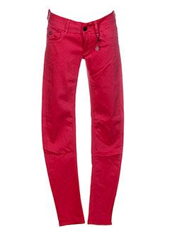 G STAR Pantalon ROUGE Pantalon décontracté FEMME (photo)