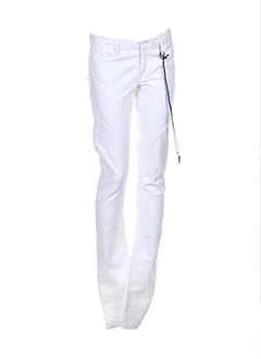 G STAR Jean BLANC Jean coupe slim FEMME (photo)