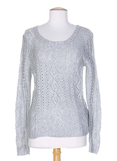 ROXY GIRL Pull GRIS Col rond FEMME (photo)
