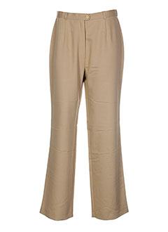 SOMMERMANN Pantalon BEIGE Pantalon citadin FEMME (photo)