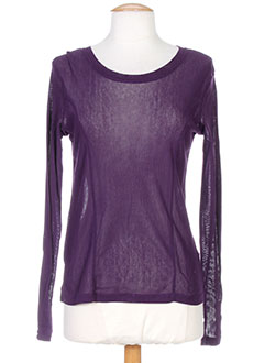 R 867 T-shirt / Top VIOLET Top FEMME (photo)