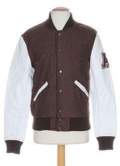 AMERICAN COLLEGE Manteaux MARRON Blouson HOMME (photo)