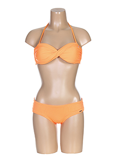 BANANA MOON Maillot de bain ORANGE 2 pièces FEMME (photo)