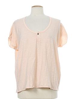 G STAR T-shirt / Top ORANGE Manche courte FEMME (photo)