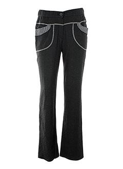 S.QUISE Pantalon GRIS Pantalon décontracté FEMME (photo)