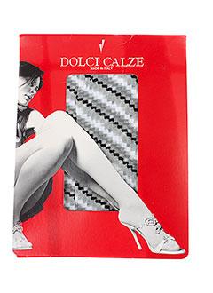 DOLCI CALZE Lingerie GRIS Bas/Collant FEMME (photo)