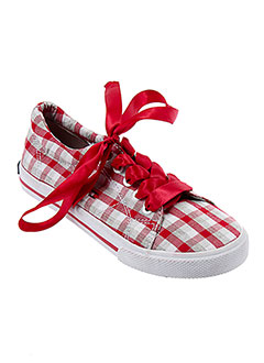 TOMMY HILFIGER Chaussure ROUGE Basket FILLE (photo)