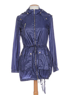 PHARD Manteaux BLEU Imperméables/Trench FEMME (photo)