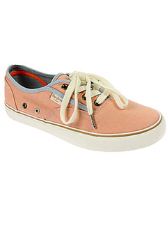PEPE JEANS Chaussure ORANGE Basket FEMME (photo)
