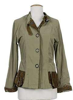 SAVE THE QUEEN Veste VERT Veste FEMME (photo)