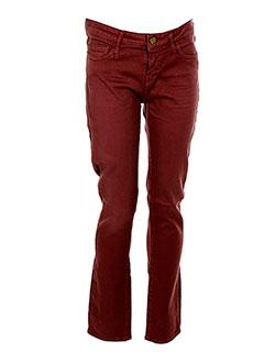 ACQUAVERDE Pantalon ROUGE Pantalon décontracté FEMME (photo)