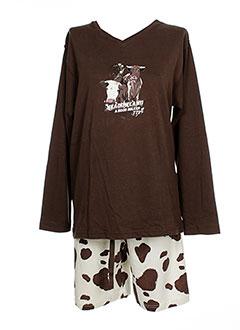 ARTHUR Lingerie MARRON Pyjama FEMME (photo)