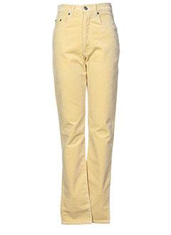 BIG STAR Pantalon JAUNE Pantalon décontracté FEMME (photo)