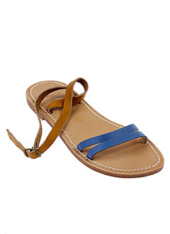 LA BOTTE GARDIANE Chaussure BLEU Sandales/Nu pied FEMME