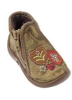 BABYBOTTE Chaussure VERT Pantoufle GARCON (photo)