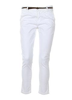 ACQUAVERDE Pantalon BLANC Pantalon décontracté FEMME (photo)