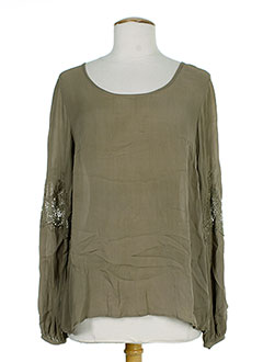CHARLIE JOE T-shirt / Top MARRON Top FEMME (photo)