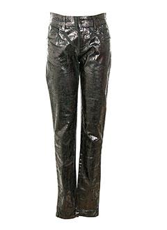 HUIT SIX SEPT Pantalon GRIS Pantalon décontracté FEMME (photo)