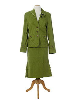 LA FEE MARABOUTEE Ensemble VERT Jupe/Veste FEMME (photo)