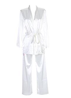 ANTIGEL Lingerie BLANC Pyjama FEMME (photo)