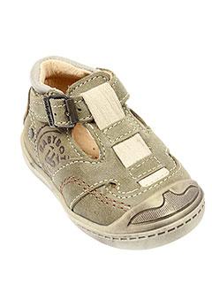 BABYBOTTE Chaussure VERT Ville GARCON (photo)