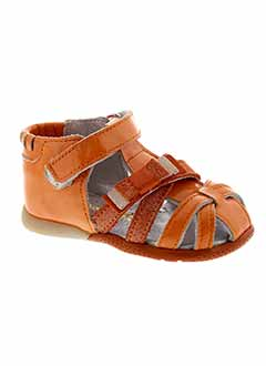 BABYBOTTE Chaussure ORANGE Sandales/Nu pied FILLE (photo)