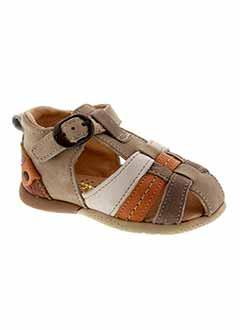 BABYBOTTE Chaussure BEIGE Sandales/Nu pied GARCON (photo)