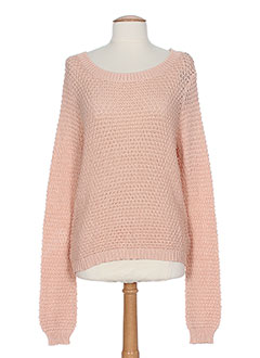 TIFFOSI Pull ROSE Col rond FEMME (photo)