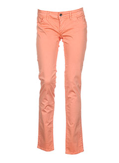 TIFFOSI Jean ORANGE Jean coupe slim FEMME (photo)